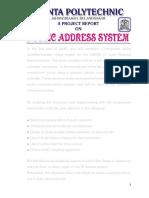 Final Pa System