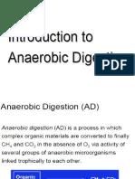 Anaerobic Digestion