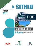 Infrome a La Asamblea Anual 2017 SITHEU