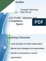 Strategic Marketing Lecture 3