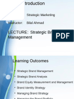 Strategic Marketing Lecture 09