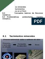 Yacimientos Cap. 8