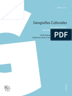 Geografía Cultural Capítulos