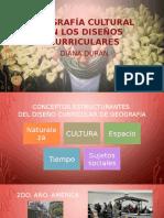 Geografía Cultural en Los Diseños Curriculares1