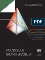 Annual Report 2014 Rak