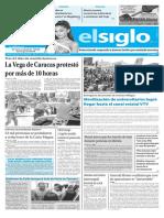 Edición Impresa El Siglo 03-06-2017