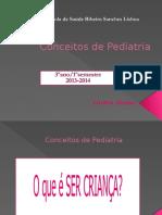 Conceitos de Pediatria