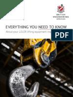 LOLER Lifting Equipment Inspection Duties eBook
