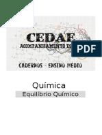 Ciências Exatas Integradas - Equilíbrio Químico.docx