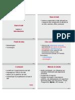 01_DBcap01 - Introduzione e DBMS