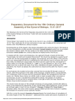 Preparatory Document for the 15th Ordinary General Assembly of the Synod of Bishops