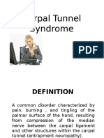 Carpal Tunel Syndrome