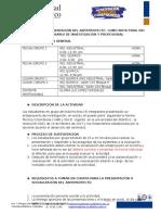 Evaluación Final Seminariode Investigación y Profesional