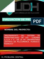 Evaluacion de Preoyectos Expo
