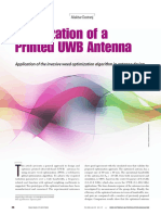 Optimization of a Printed UWB Antenna(1)
