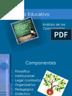 Componentes Modelo Educativo