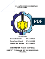 Geothermal Tugas Akhir