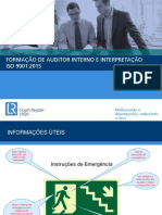 ISO 9001 2015 Auditor Interno