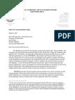 Carta del 9 de marzo de 2017 de la JSF al Gobernador de PR