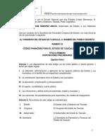 Codigo Financiero