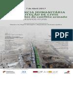 Cartaz Assistência Humanitária e Proteção de Civis