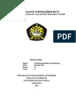 Review Kuliah III Manajemen Mutu