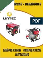 Catalogo Peças Motobombas e Geradores LINTEC