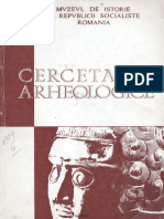 Cercetari Arheologice III 1979