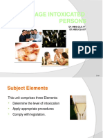 PPT Manage Intoxicated Persons 300812