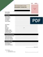 Formulir Pendaftaran Keanggotaan-1