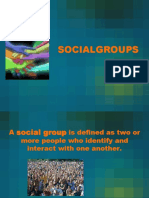 Social Groups LECTURE (2 Files Merged)