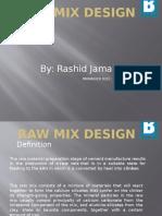 Raw Mix Design By Rashid Jamal(16.02.2017).pptx