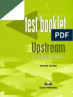 Up El Test Booklet