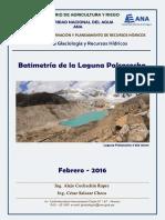Batimetria Laguna Palcacocha - Año 2016