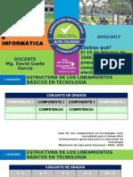 Clase 3 Estructura de Los Lineamientos - Copia