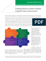 Enabling flawless product releases at global client environments