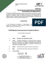 Convocatoria al XXVIII Maratón de la Ciudad de México