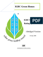 7. IGBC Green Homes (Pilot Version)