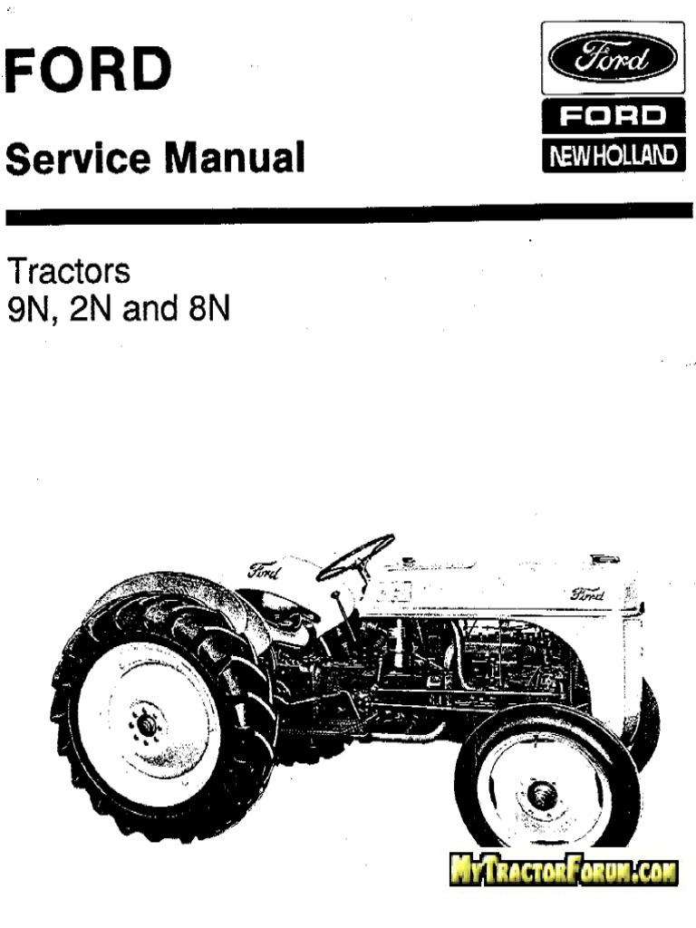348. Ford 9N-2N-8N New Holland Servisni Manual.pdf