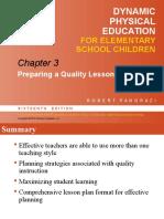 Dynamic Physical Education
