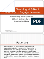 Effective Teaching at Bilkent University