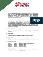 Reglamento SITDEF 2017