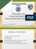 Presentacion Ensamblaje de Pcs INGENIERO