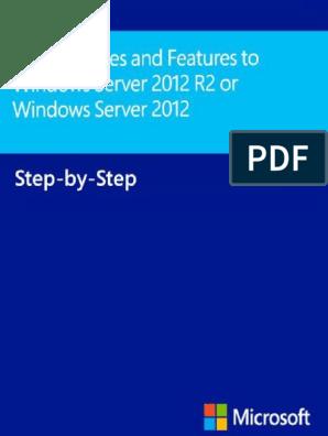 Windows Server 2012 R2 or
