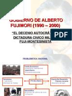 Gobiernos de Fujimori