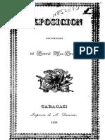 1839 - Petición Del General Mac-Gregor