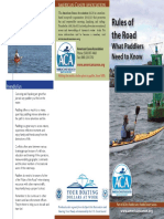 canoe kayak rules of the road