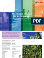 The Future Climate for Development
