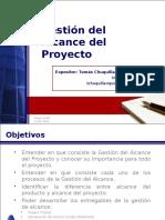 Gestion Del Alcance Del Proyecto