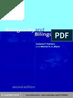 Josiane F. Hamers, Michel H. a. Blanc Bilinguality and Bilingualism